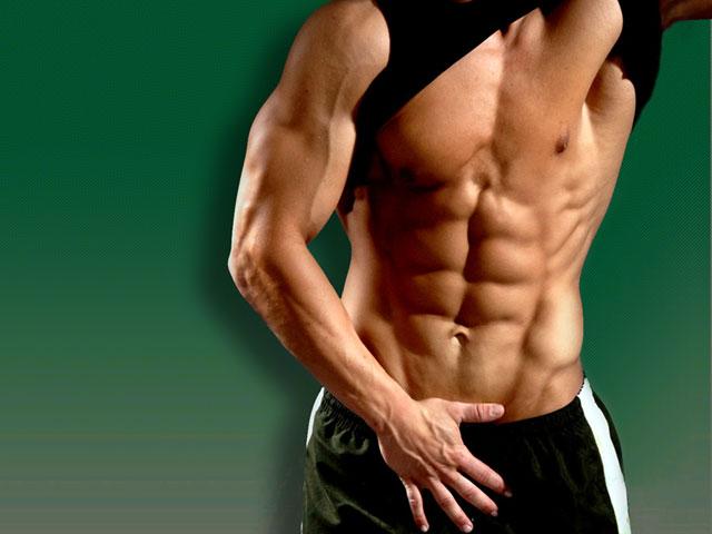 упражнения от жира на животе с гантелями